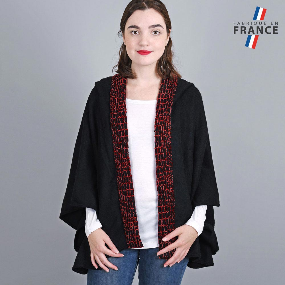 AT-03247-VF10-1-LB_FR-poncho-femme-a-capuche-perles-rouge-fabrication-francaise