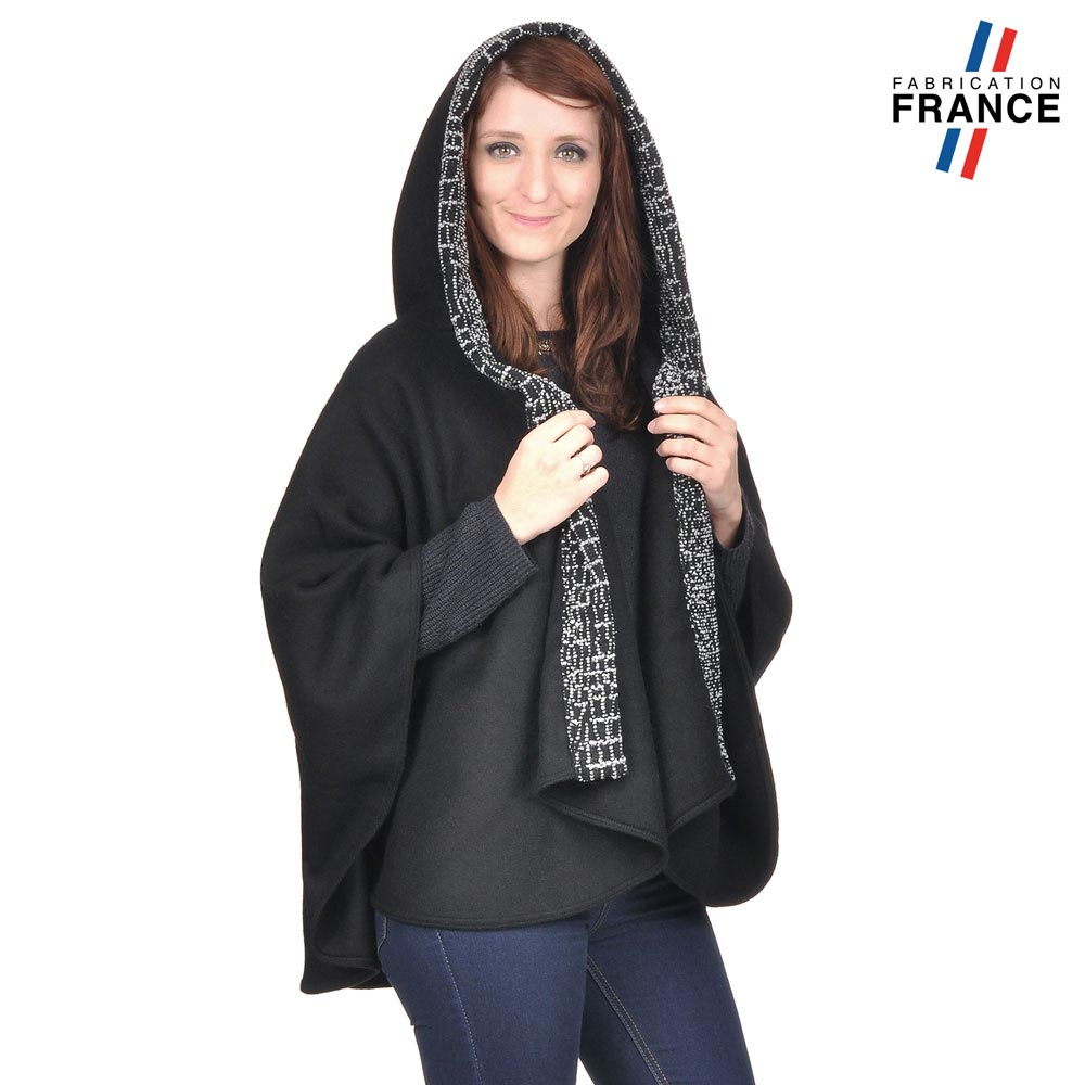AT-03248-VF10-P-LB_FR-poncho-a-capuche-perles-gris-fabrication-francaise