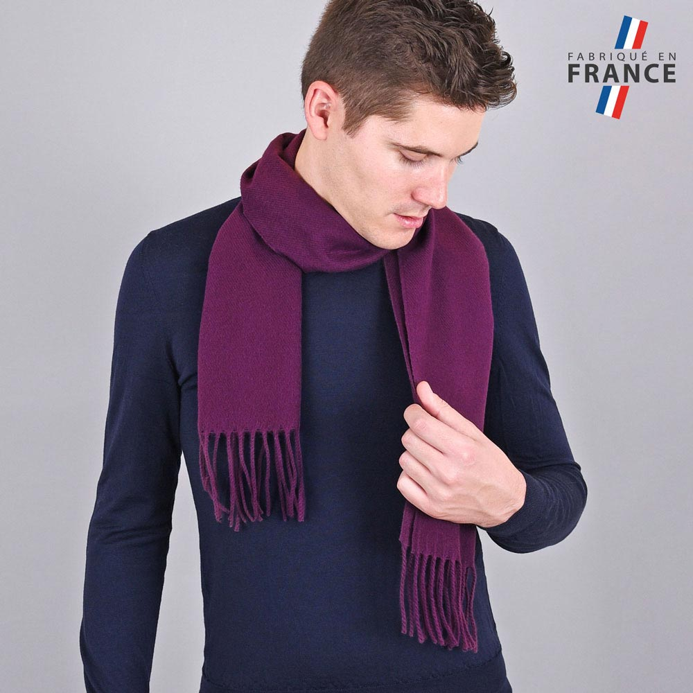 AT-03434-VH10-LB_FR-echarpe-homme-violine-franges-fabrication-france