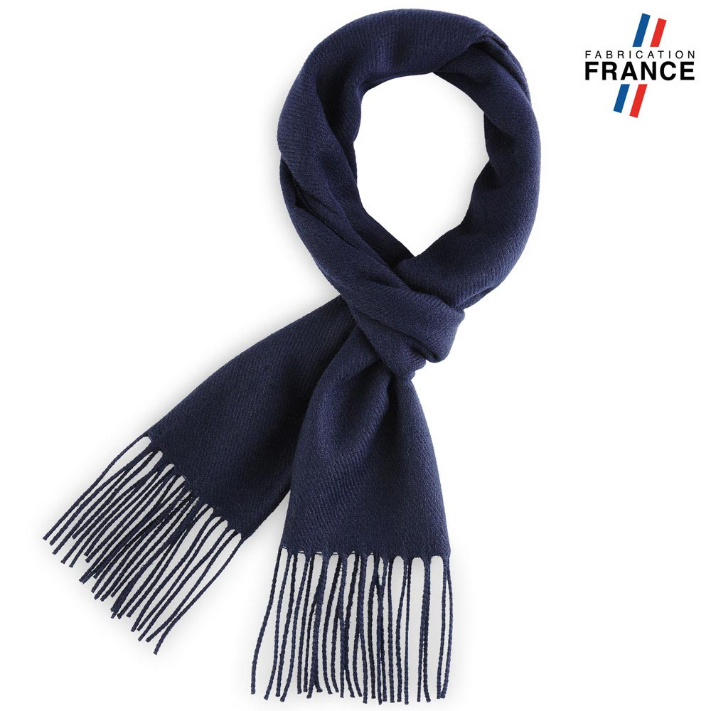 AT-03464-F10-LB_FR-echarpe-bleue-marine-franges-fabrication-france
