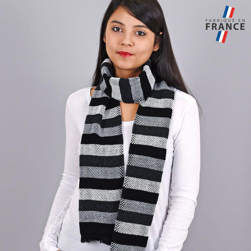 AT-03483-VF10-LB_FR-echarpe-rayures-gris-noir-fabrication-france