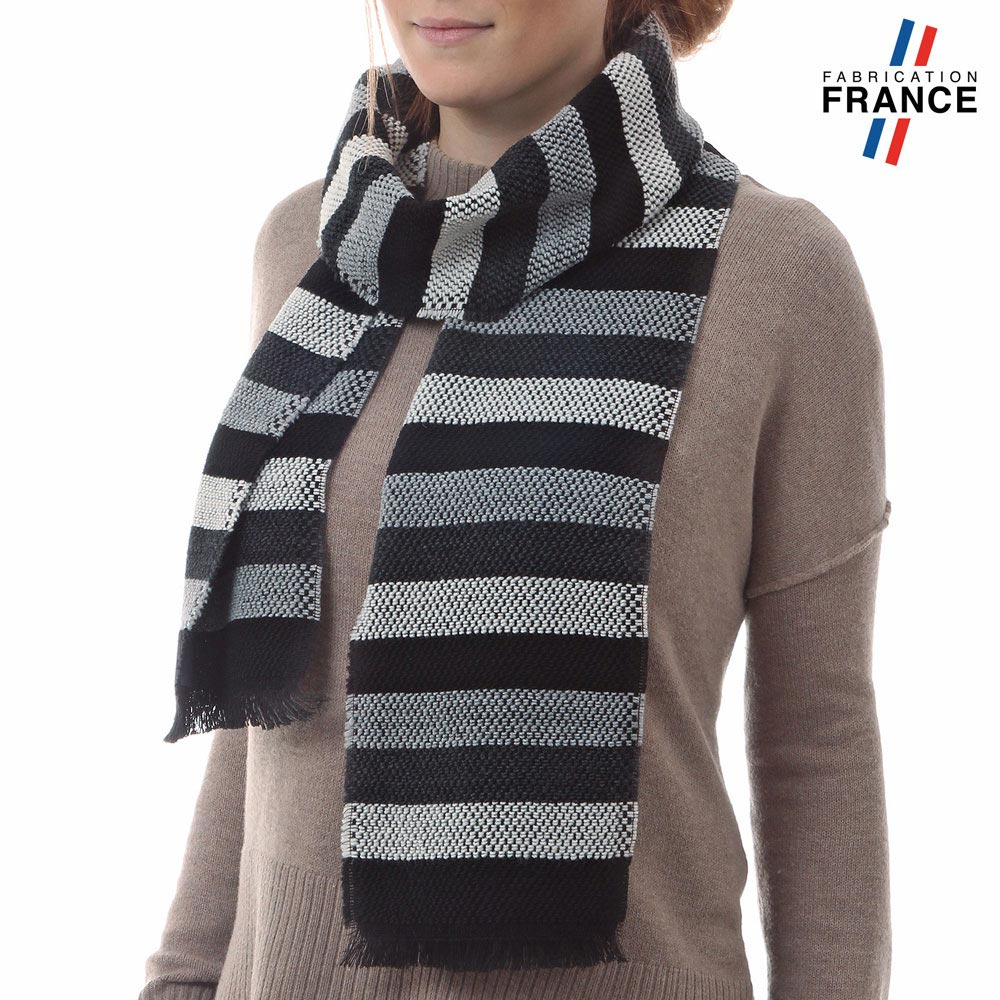 AT-03483-VF10-P-LB_FR-echarpe-rayures-gris-noir-fabrication-france