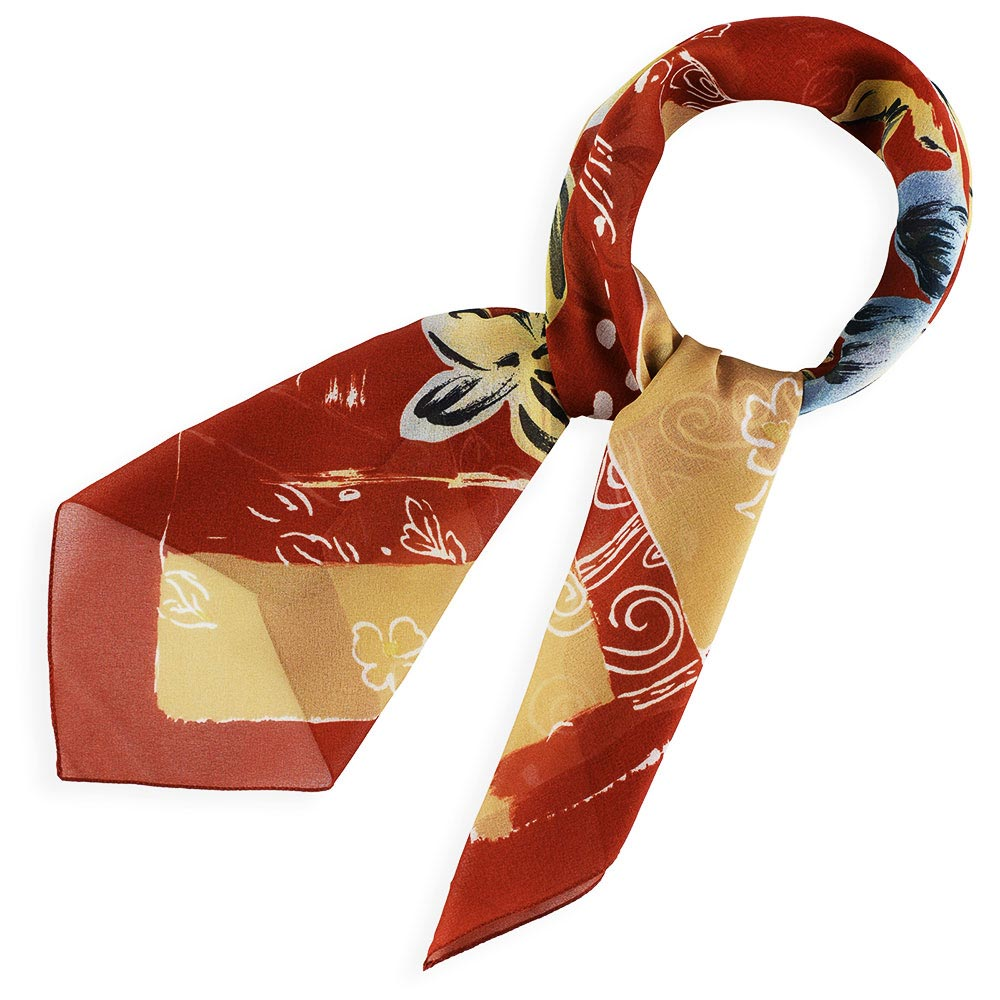AT-03692-marron-F10-foulard-carre-mousseline-fleurs-marron