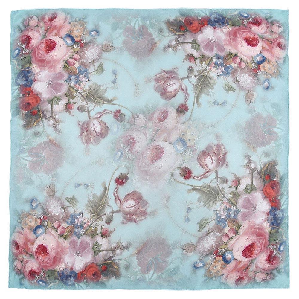 AT-03892-turquoise-A10-grand-carre-soie-roses-sur-bleu