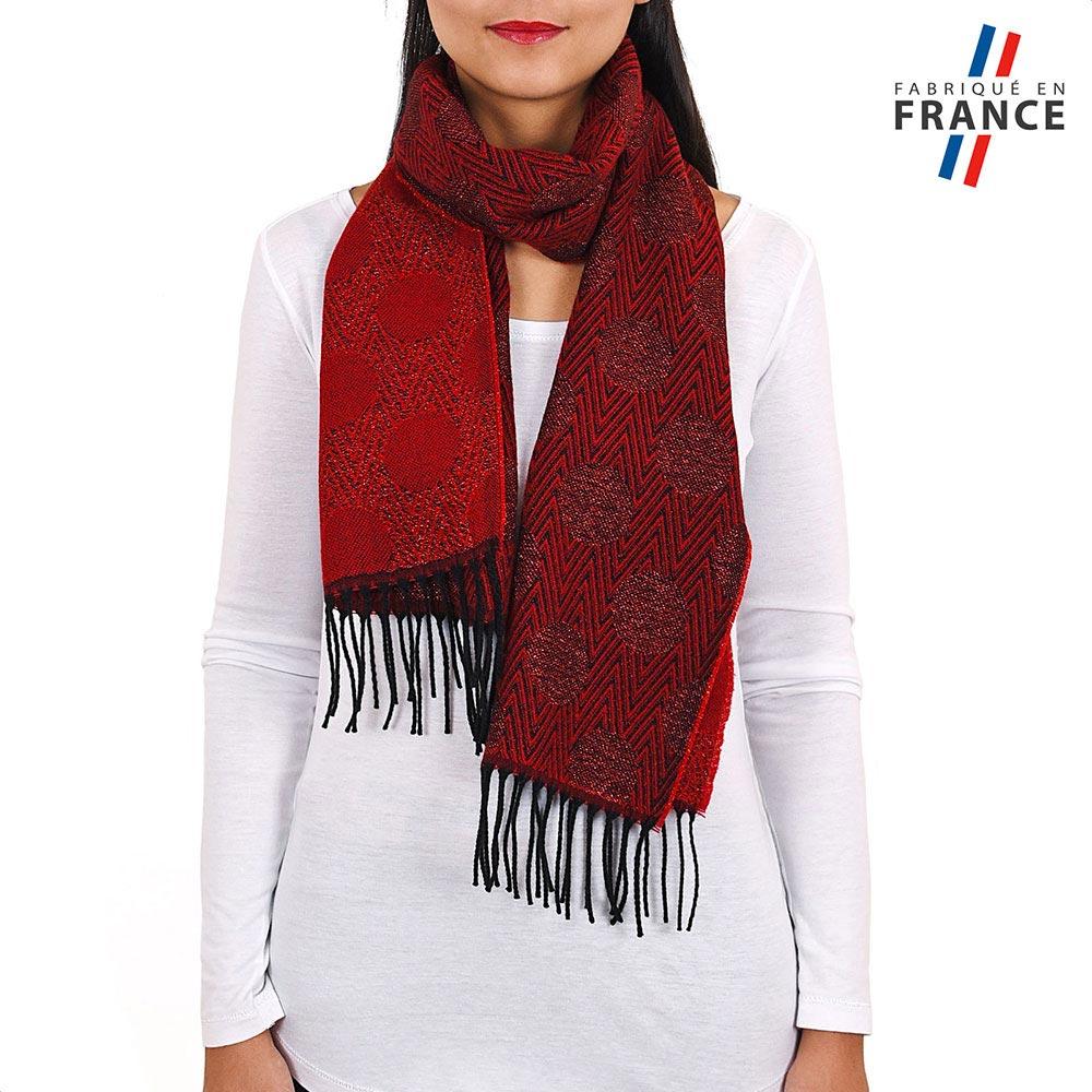 AT-03947-VF10-P-LB_FR-echarpe-femme-rouge-a-pois