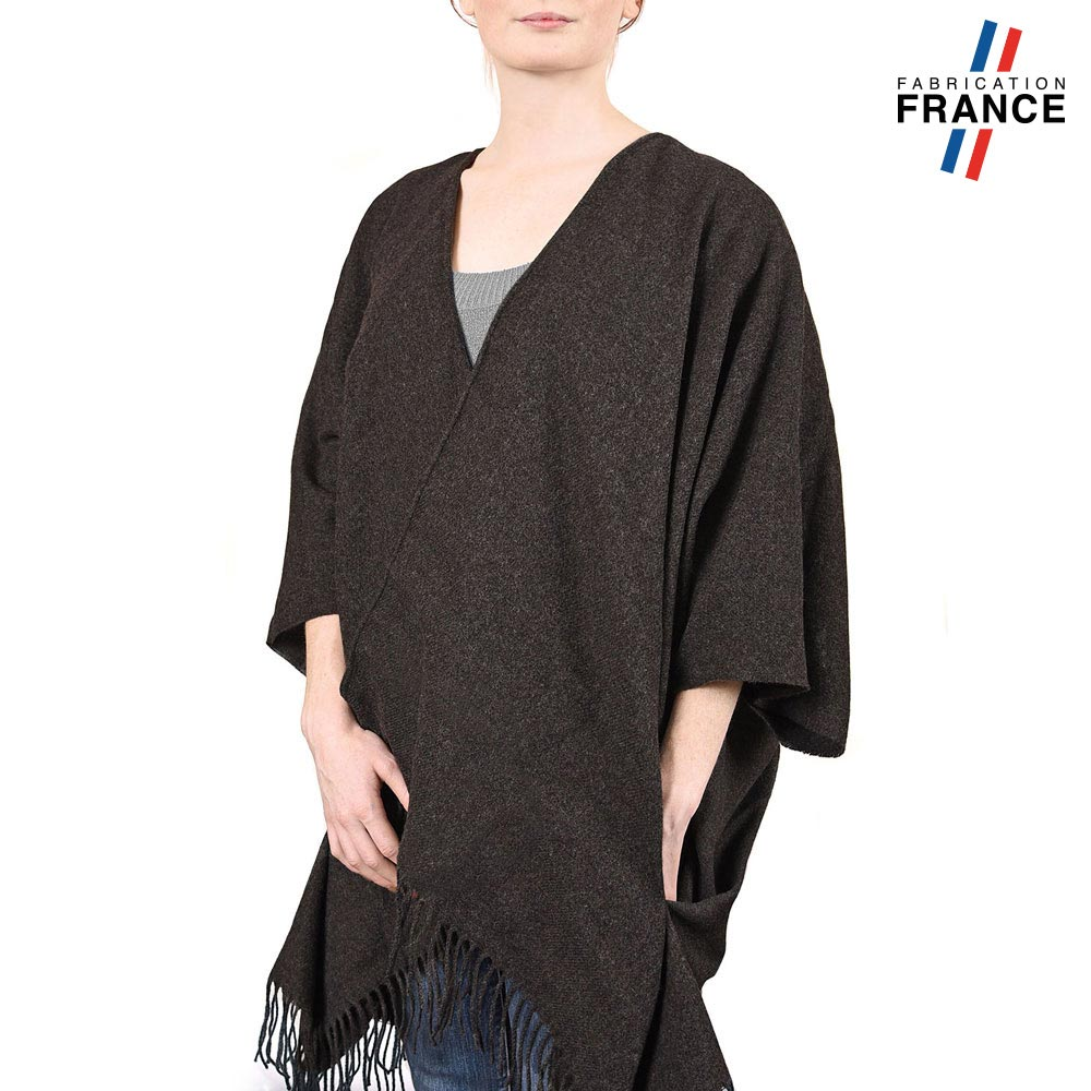 AT-03985-VF10-P-poncho-femme-poches-gris