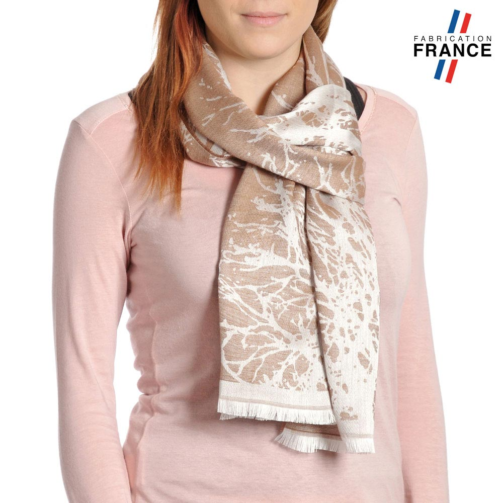 AT-04181-VF10-P-LB_FR-echarpe-branchages-taupe-qualicoq-fabrication-france