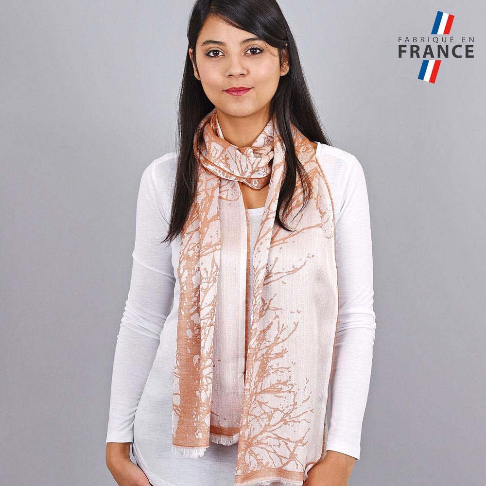 AT-04182-VF10-LB_FR-echarpe-branchages-orange-saumon-qualicoq-fabrication-france