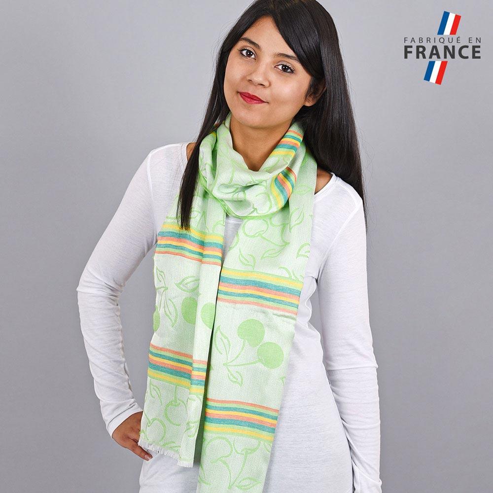 AT-04204-VF10-LB_FR-echarpe-legere-fabrication-france-cerises-vert-pomme