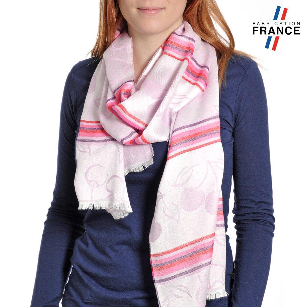 AT-04209-VF10-P-LB_FR-echarpe-legere-fabrication-france-cerises-rose