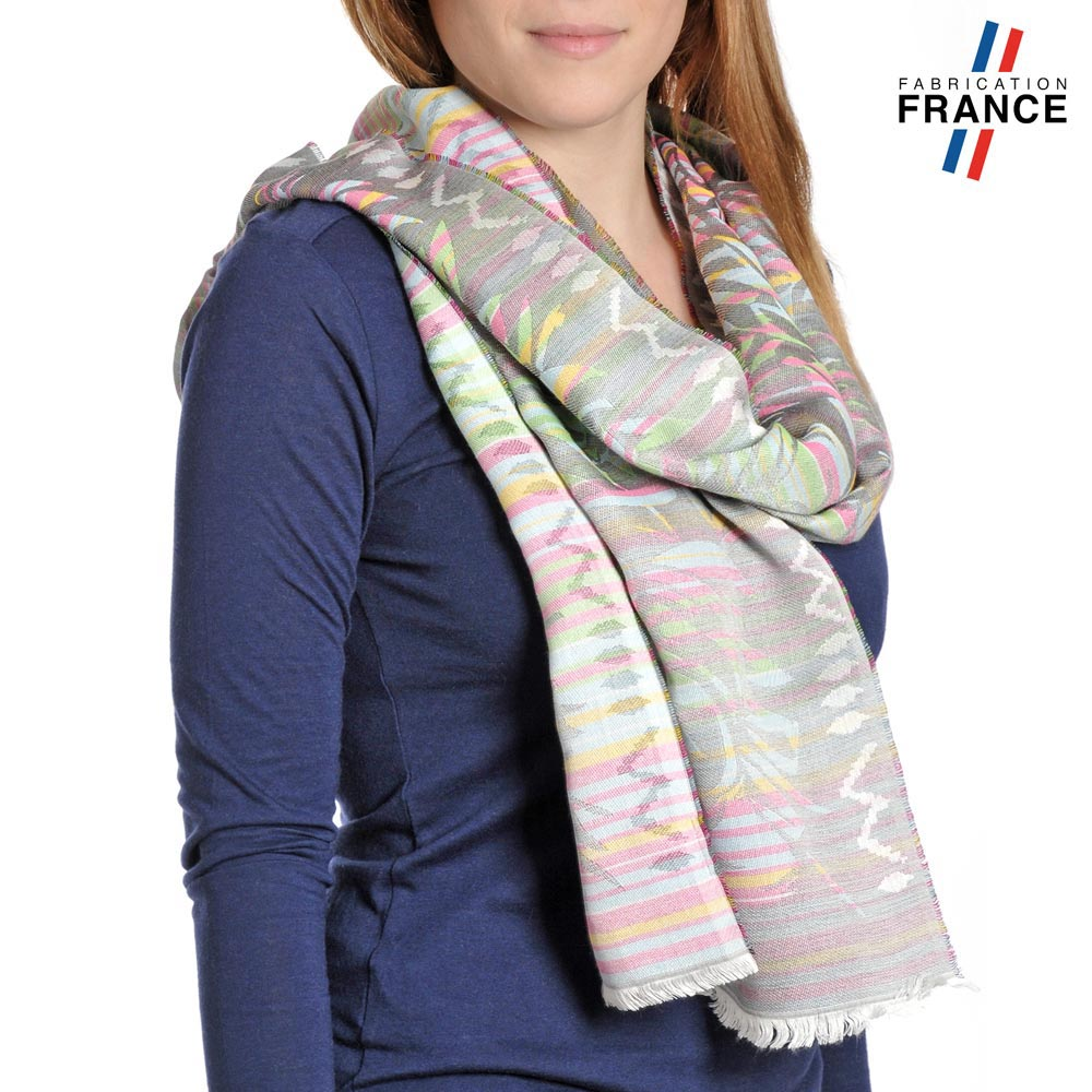 AT-04211-VF10-P-LB_FR-echarpe-legere-multicolore-rayures-fougeres-multicolore-qualicoq