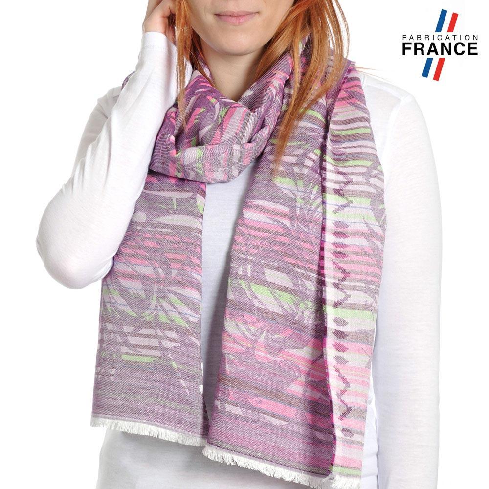 AT-04213-VF10-P-LB_FR-echarpe-legere-rayures-fougeres-violet-glycine-qualicoq