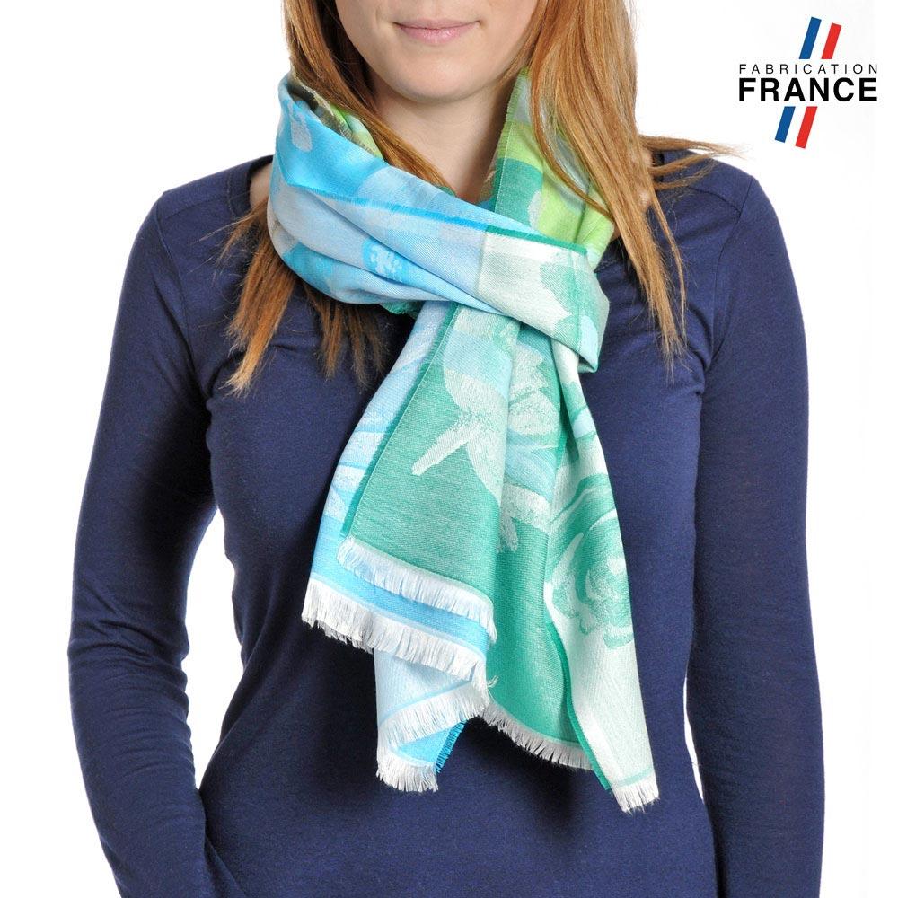 AT-04229-VF10-P-LB_FR-echarpe-femme-qualicoq-motifs-floraux-bleu-vert