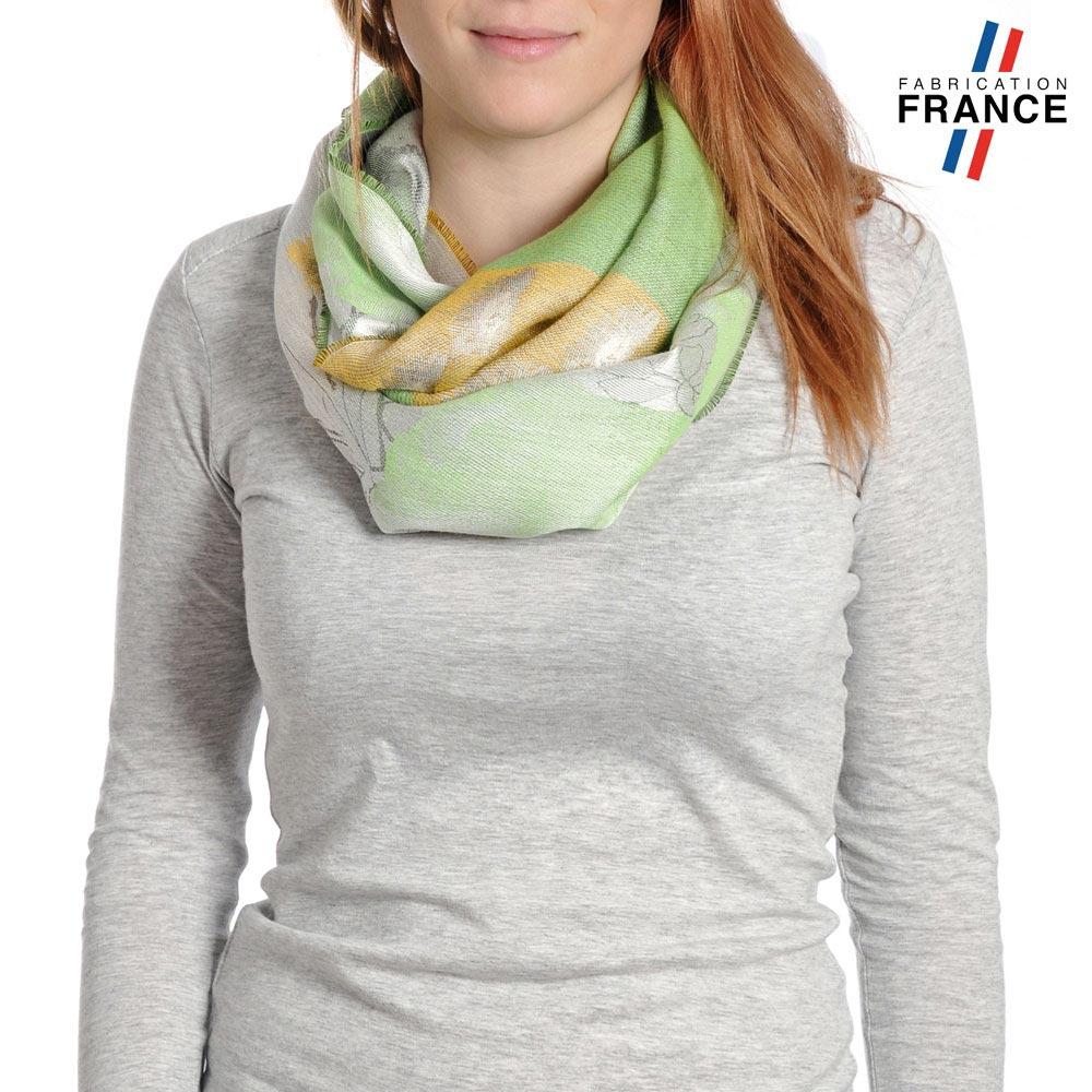 AT-04235-VF10-P-LB_FR-echarpe-femme-fabrication-france-feuilles-fleurs-vert-pale