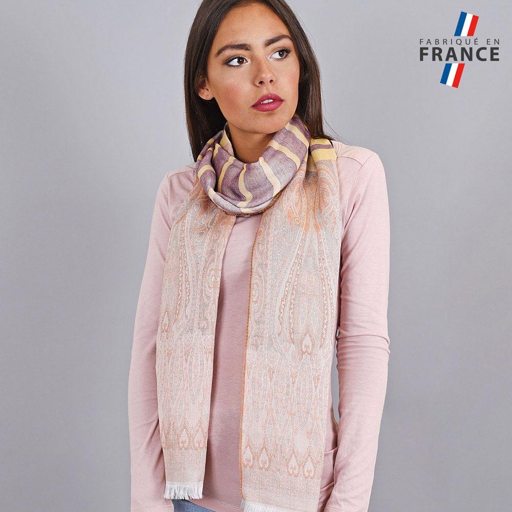 AT-04241-VF10-LB_FR-echarpe-legere-fabriquee-france-motifs-indiens-violet-creme