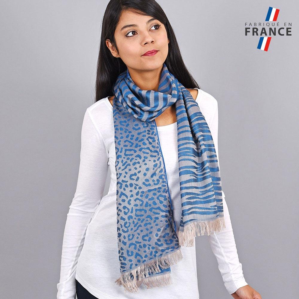AT-04255-VF10-LB_FR-echarpe-legere-tigre-paillettes-bleu-qualicoq