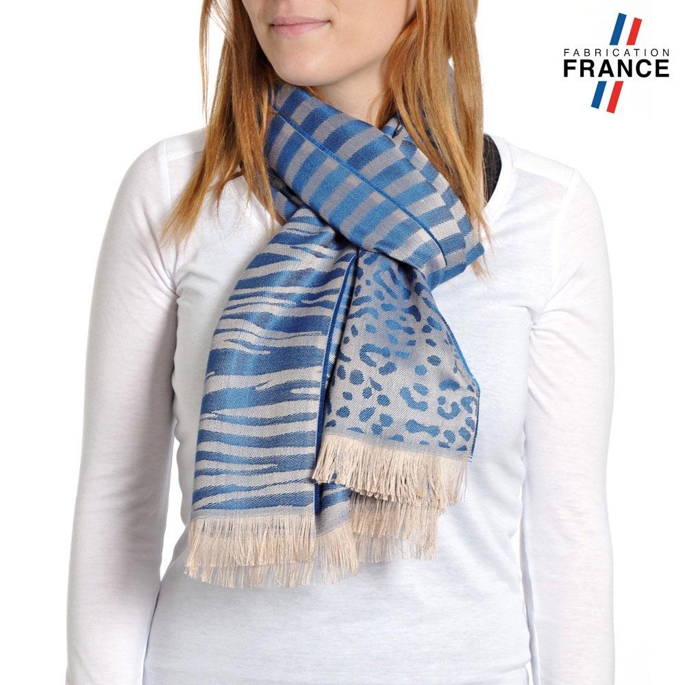 AT-04255-VF10-P-LB_FR-echarpe-legere-tigre-paillettes-bleu-qualicoq