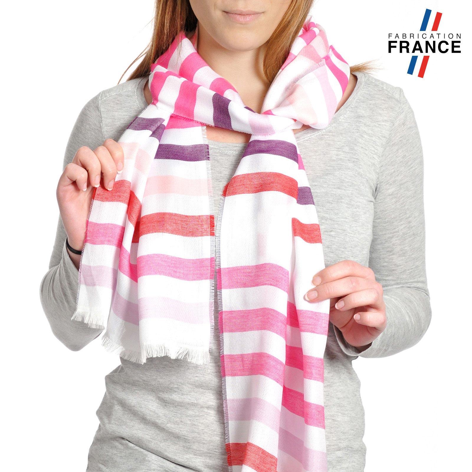 AT-04291-VF10-T-LB_FR-echarpe-rayures-violet-rose-qualicoq