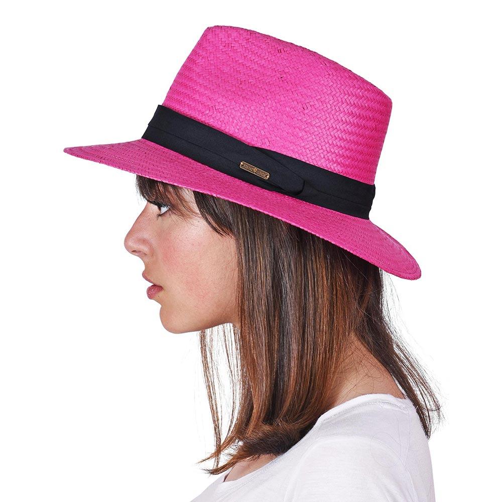 CP-01111-VF10-P-chapeau-borsalino-femme-rose