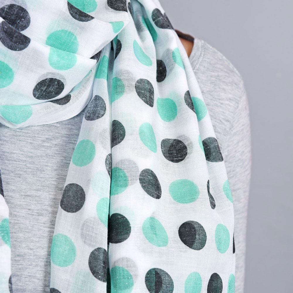 AT-04322-VF10-2-foulard-femme-pois-aqua-noir