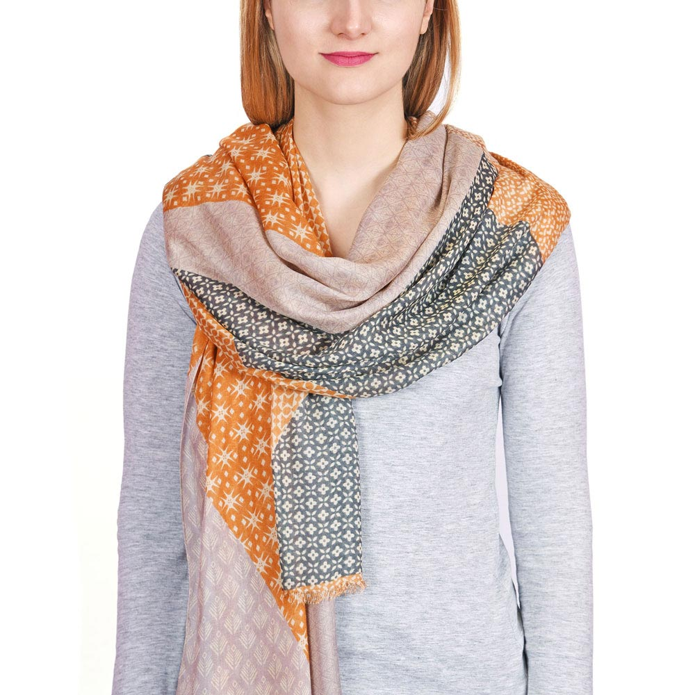 AT-04340-VF10-P-cheche-orange-gris-motifs-geometriques