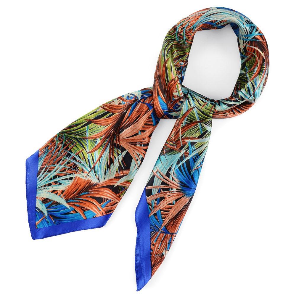 AT-04351-F10-foulard-carre-soie-bleu-fleurs-et-ramages