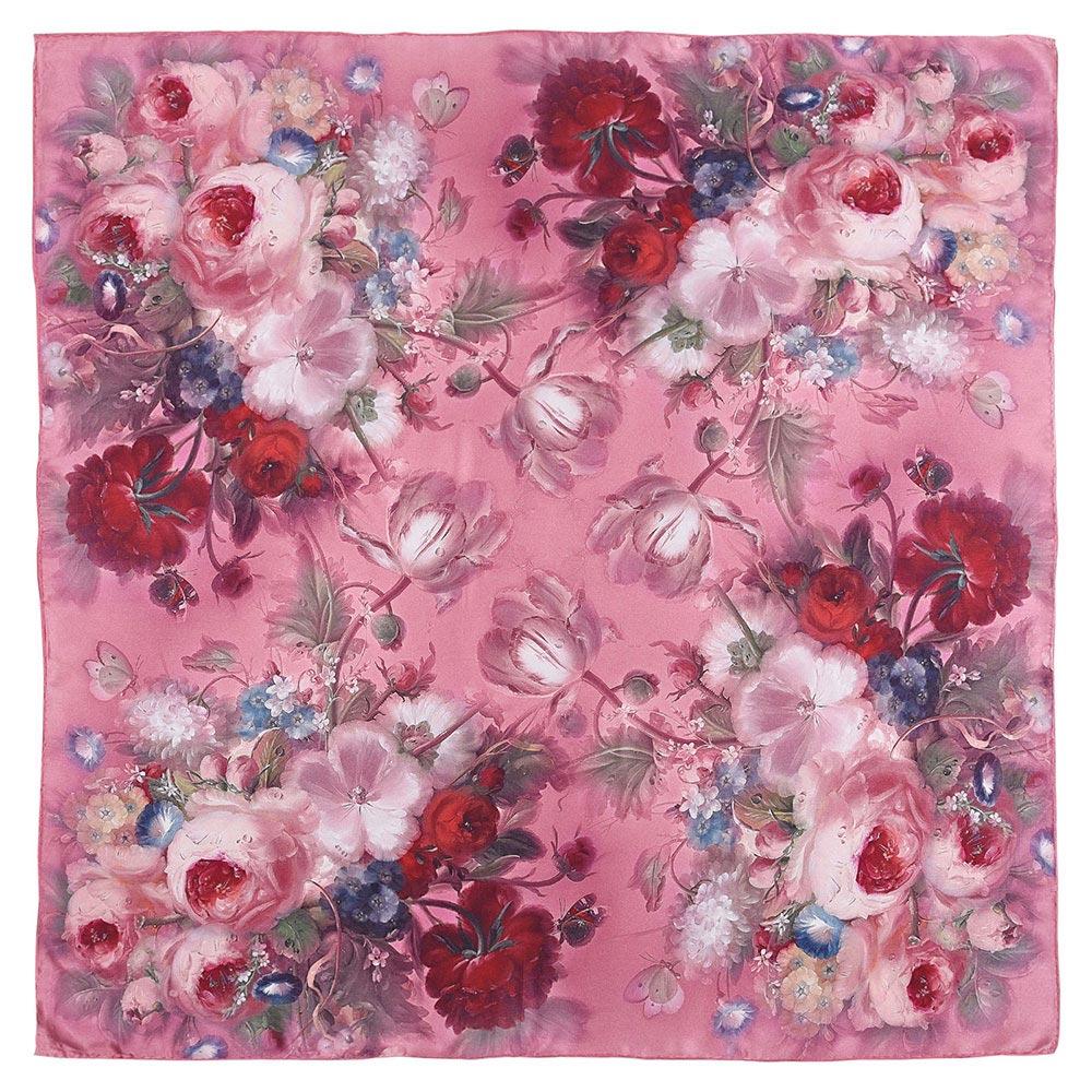 AT-04409-A10-carre-de-soie-fleurs-vieux-rose