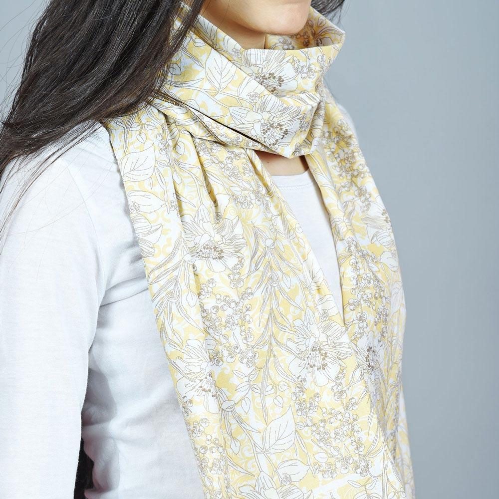 AT-04486-VF10-2-echarpe-coton-jaune-fleurs