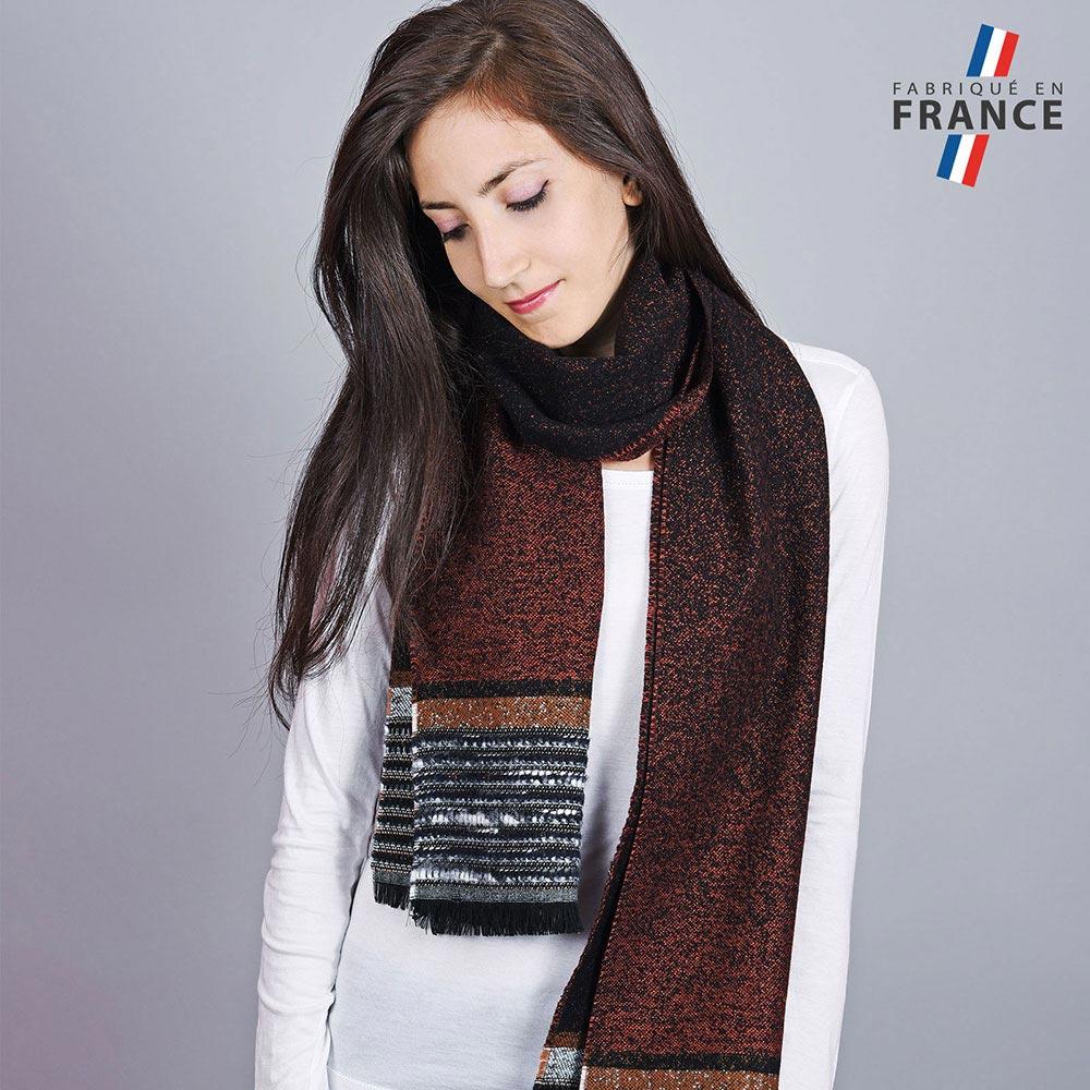 AT-04539-VF10-1-LB_FR-echarpe-femme-marron-noire