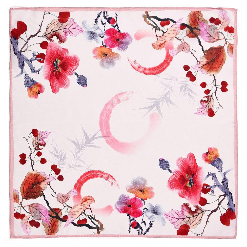 AT-04657-A10-carre-soie-feuilles-et-fleurs-rose