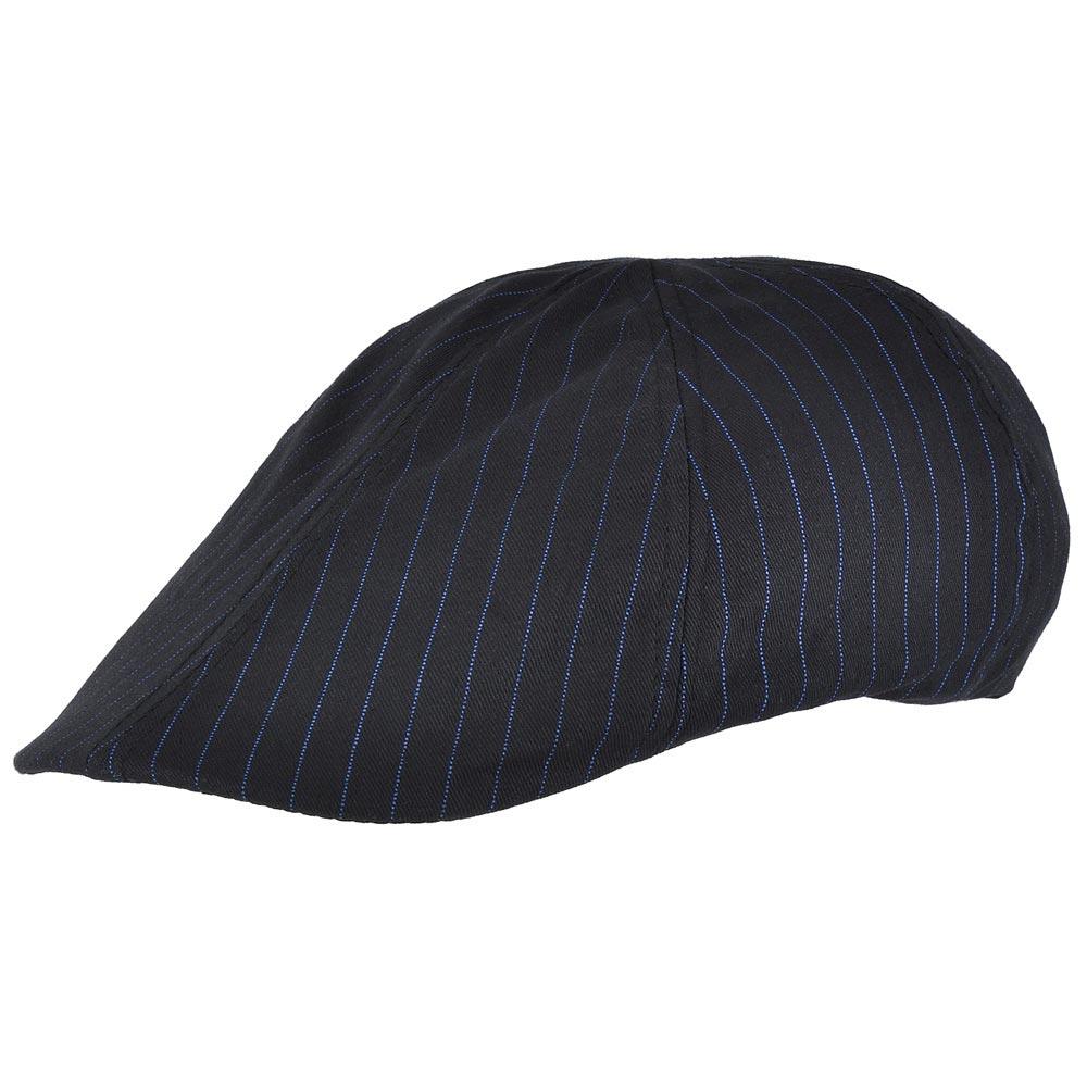 CP-00487-F10-casquette-plate-coton-lignes-bleu-marine