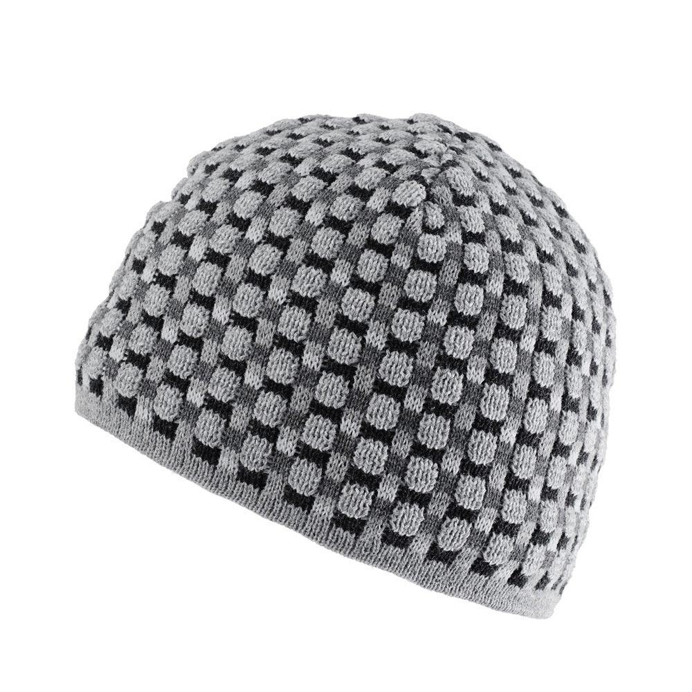 CP-00780-F10-bonnet-homme-a-damier-anthracite