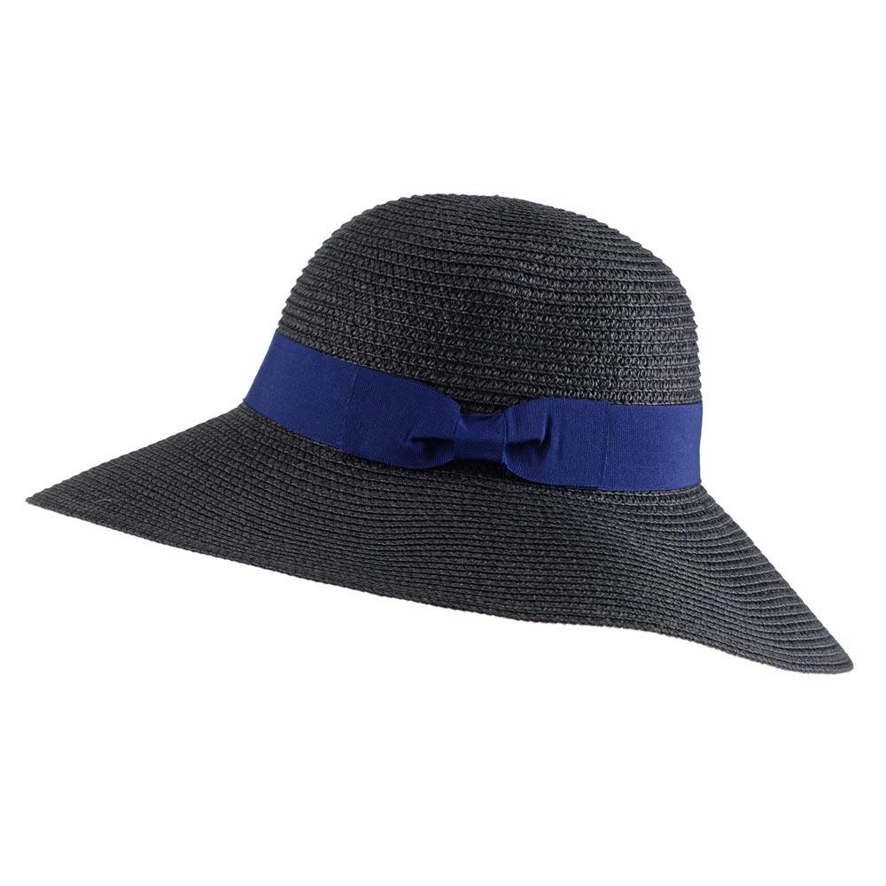 CP-00853-F10-chapeau-femme-bords-larges-noir-ruban-bleu