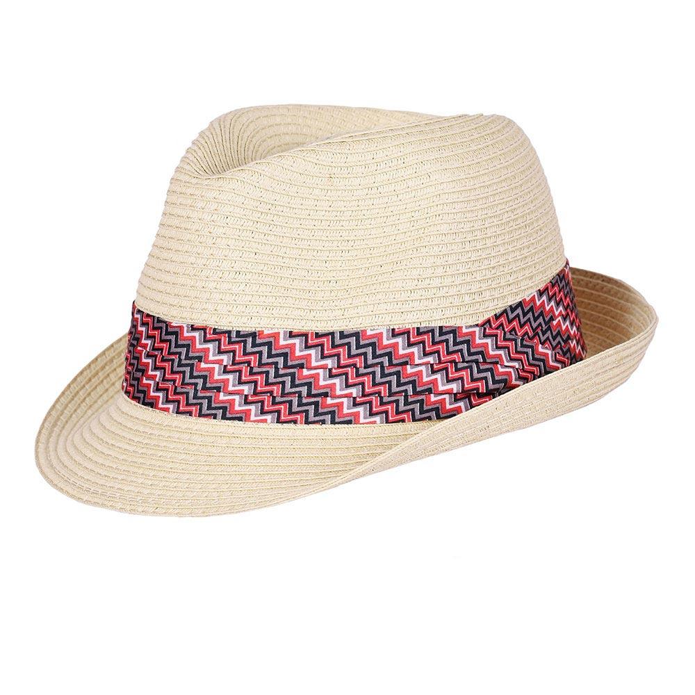 CP-01089-F10-P-chapeau-trilby-reglable-galon-rouge