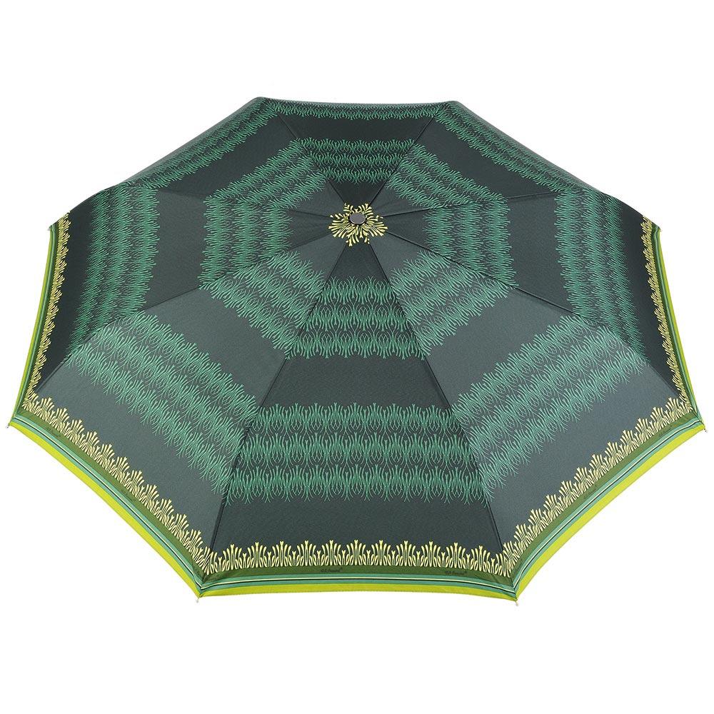 PA-00035-F10-parapluie-femme-pliant-automatique-motif-abstrait-vert