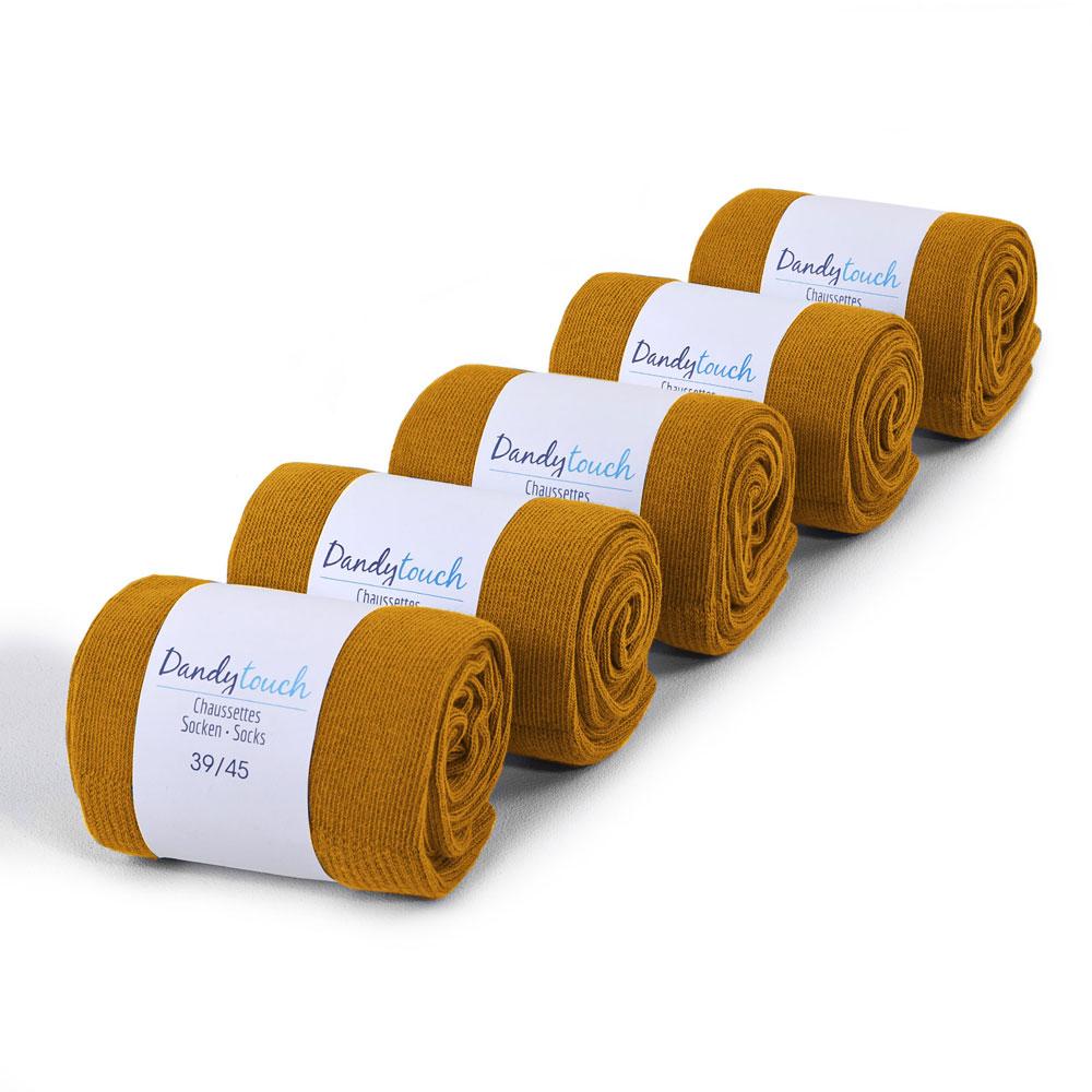 CH-00421-F10-lot-5-paires-de-chaussettes-homme-caramels-unies