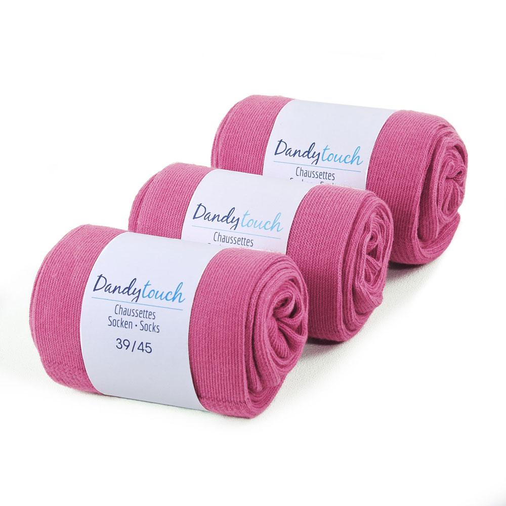 CH-00445-F10-lot-3-paires-de-chaussettes-homme-roses-fuchsia-unies