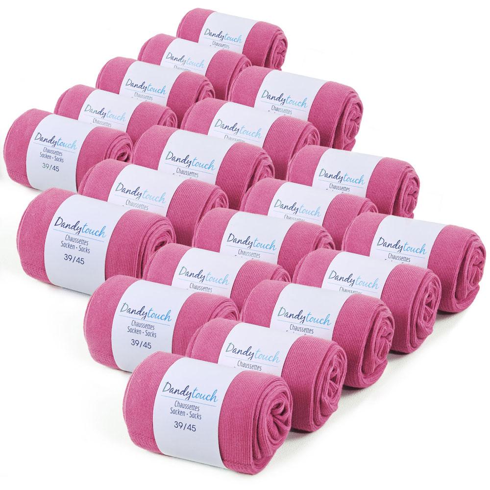 CH-00448-F10-lot-20-paires-de-chaussettes-homme-roses-fuchsia-unies