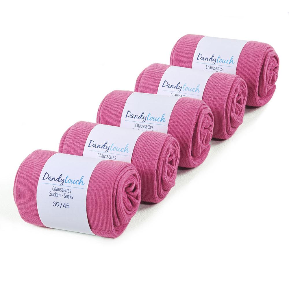CH-00446-F10-lot-5-paires-de-chaussettes-homme-roses-fuchsia-unies