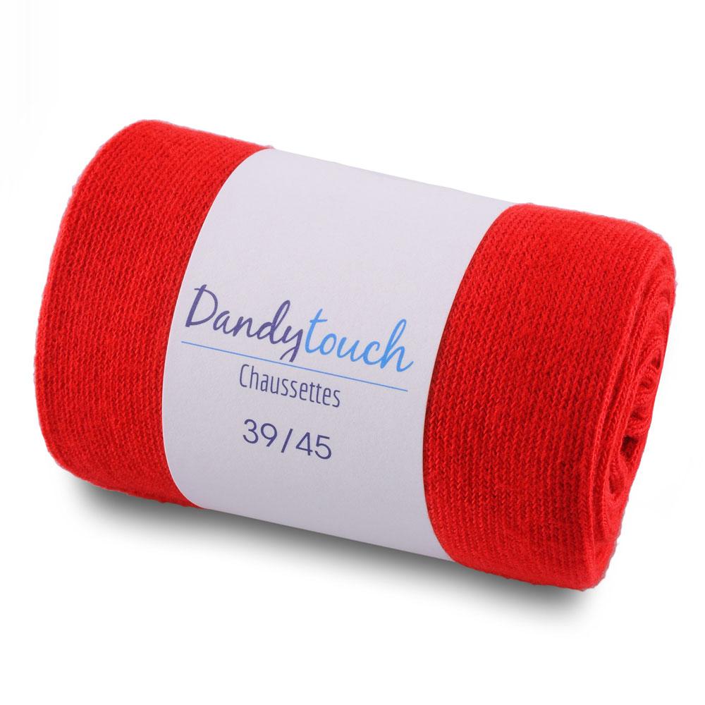 CH-00454-F10-chaussettes-homme-rouges-unies