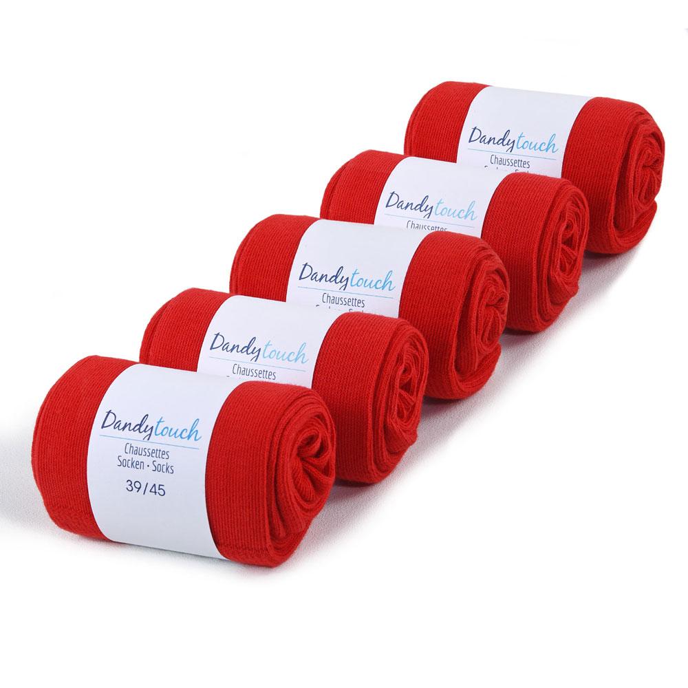 CH-00456-F10-lot-5-paires-de-chaussettes-homme-rouges-unies