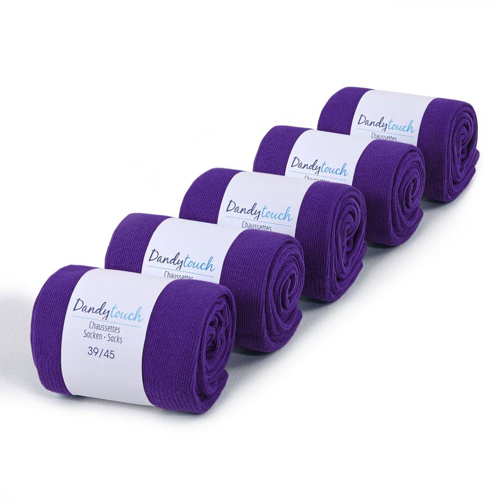CH-00491-F10-lot-5-paires-de-chaussettes-homme-violet-unies