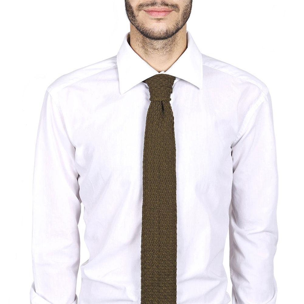 CV-00220-VH10-cravate-alpaga-laine-vert-marron