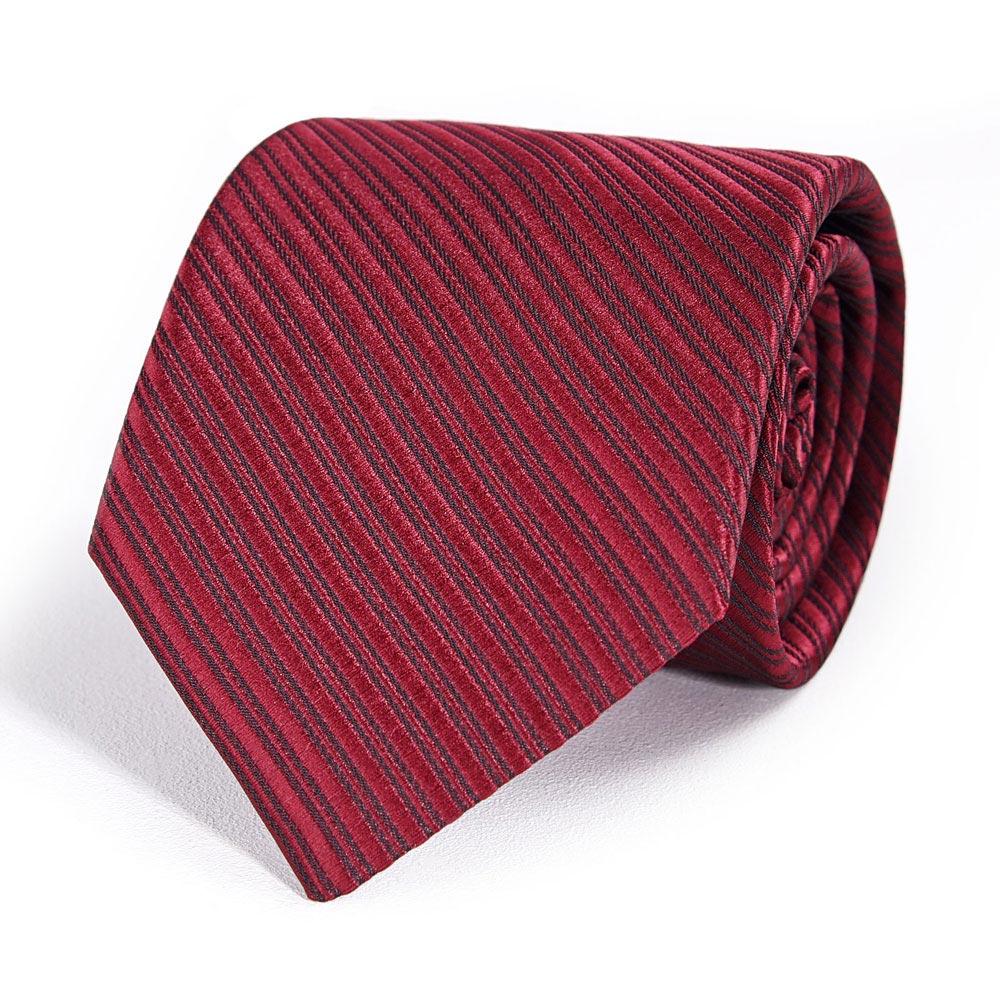CV-00343-F10-cravate-homme-faux-uni-rouge-bordeaux