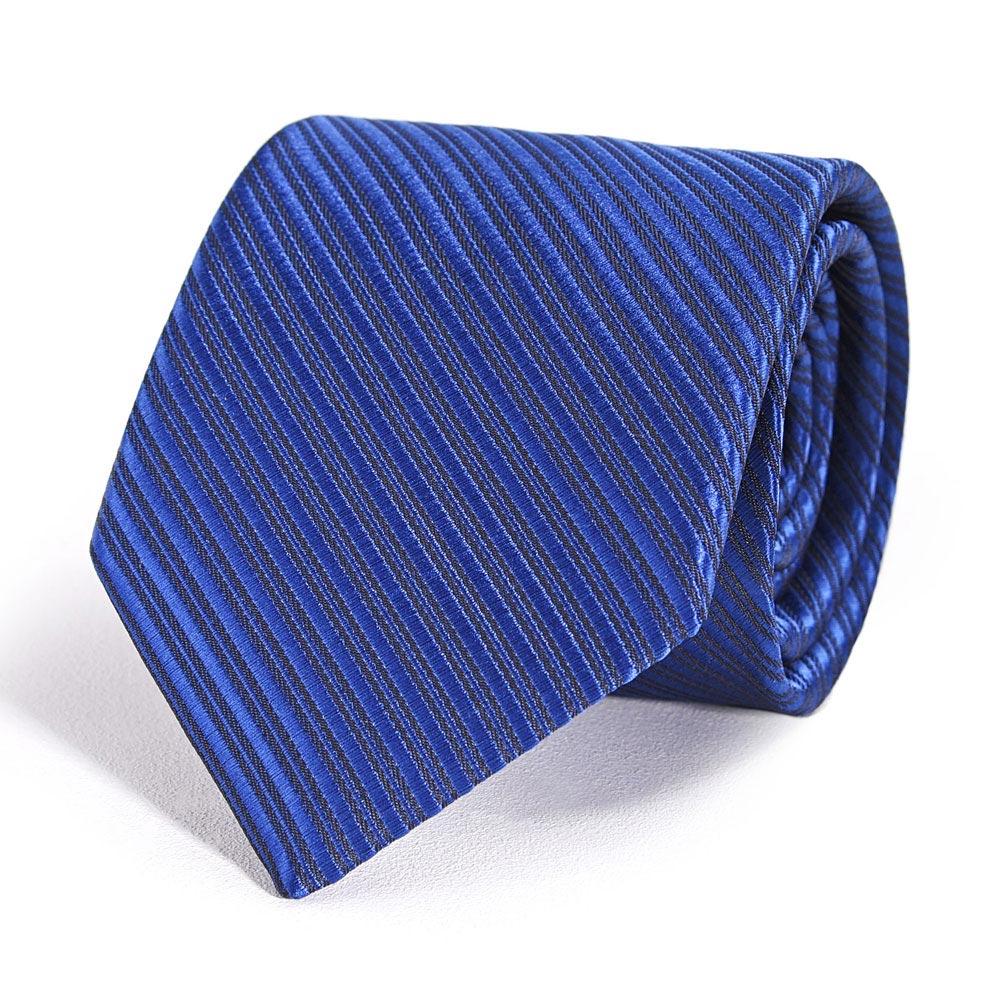 CV-00347-F10-cravate-faux-uni-bleue-marine-dandytouch
