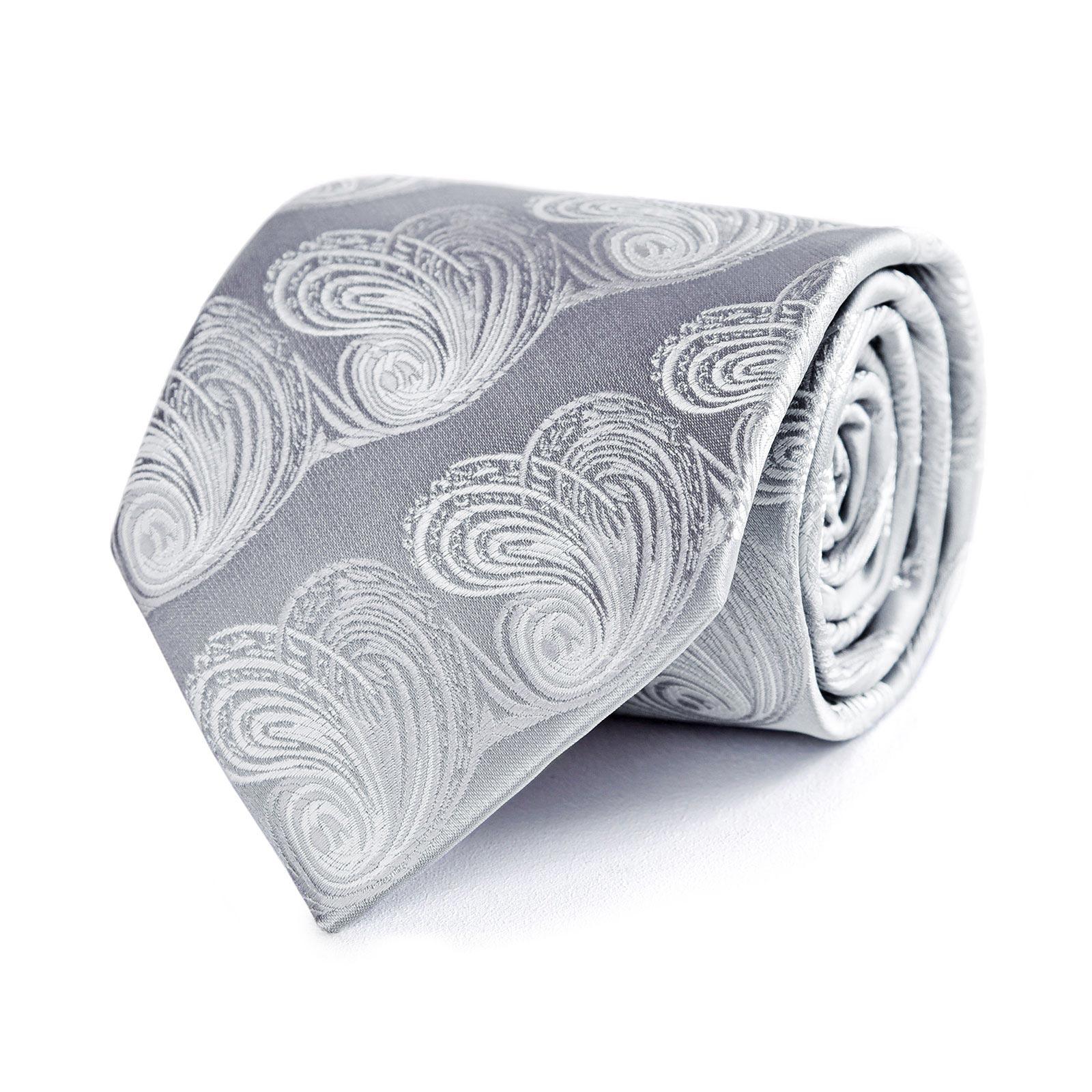 CV-00308-argent-F10-cravate-grise-feuille-relief