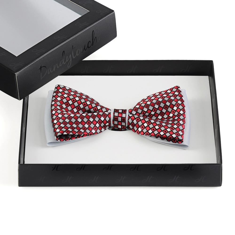 ND-00138-F10-noeud-papillon-damier-rouge-argent