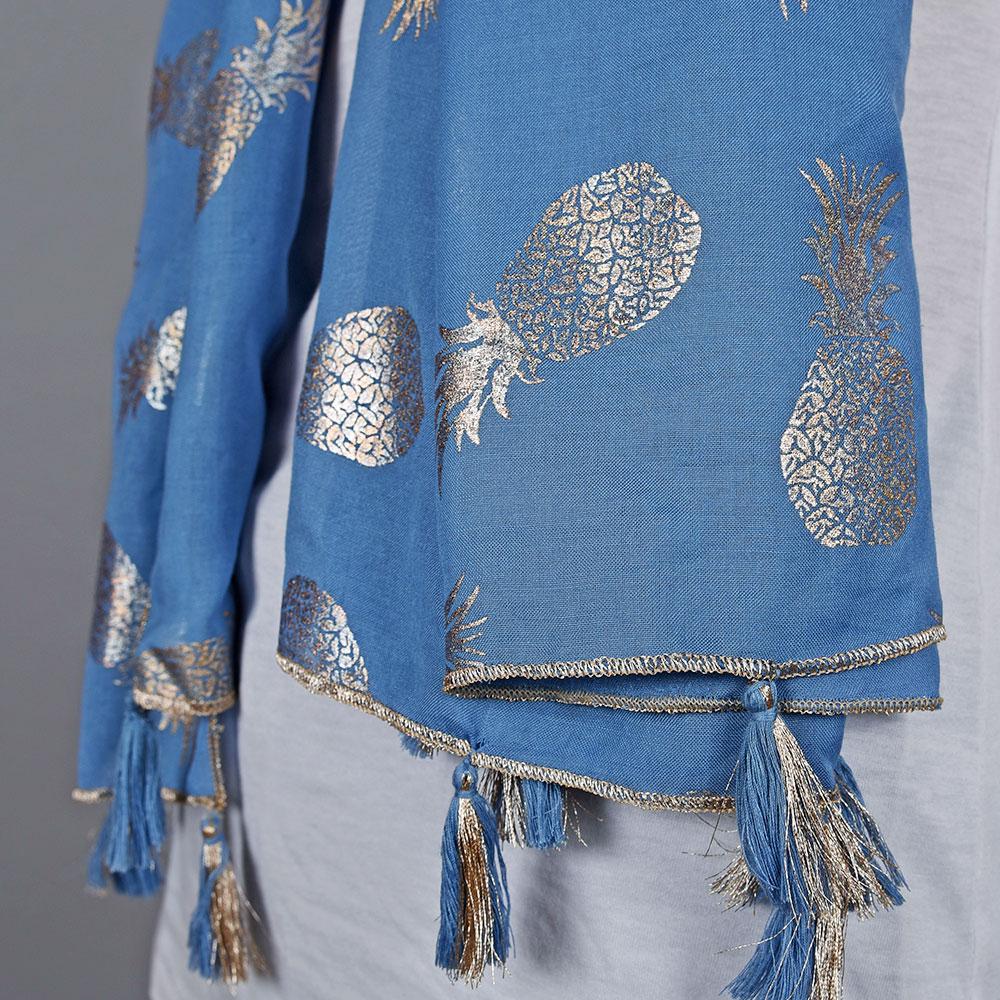 AT-04733-VF10-2-foulard-femme-dore-ananas-bleu
