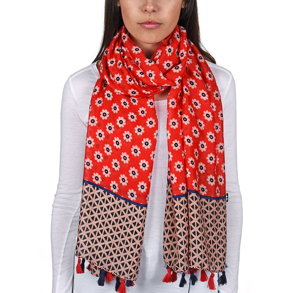 AT-04737-VF10-P-foulard-femme-leger-rouge