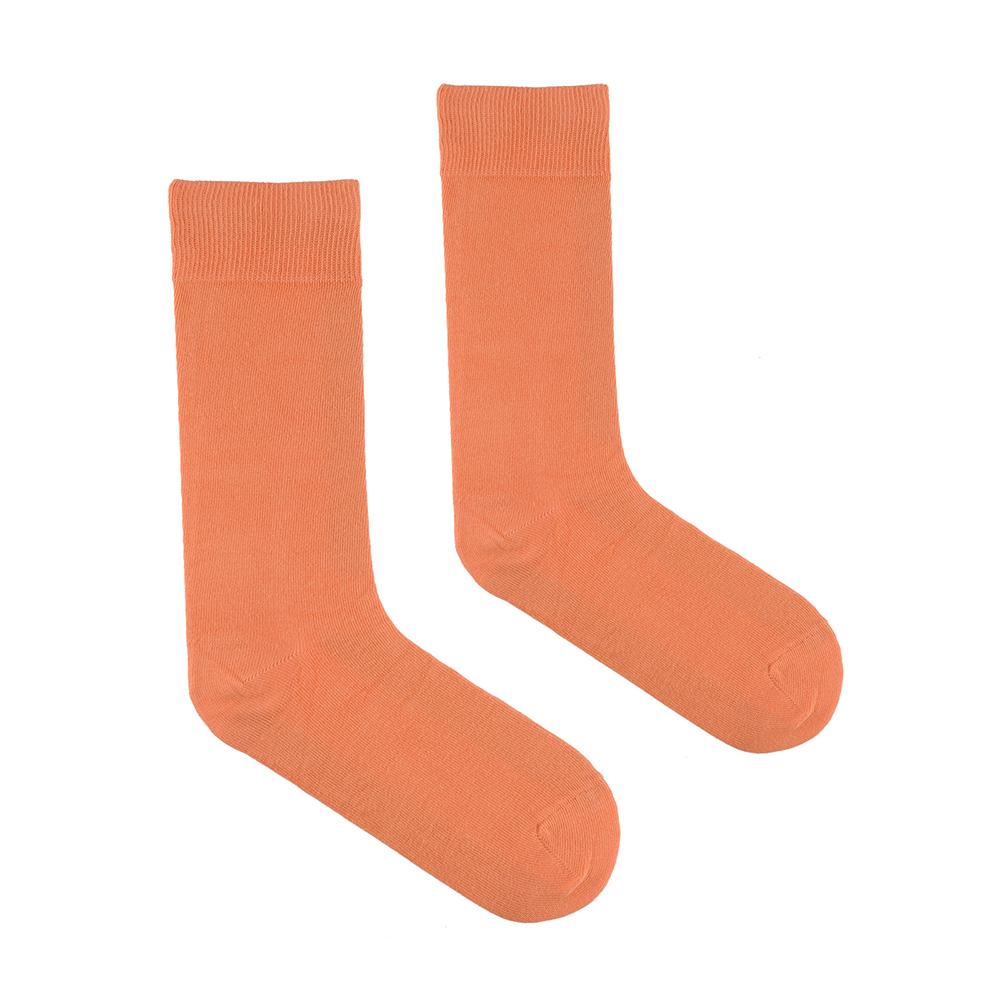 CH-00547-A10-chaussettes-homme-saumon-unies